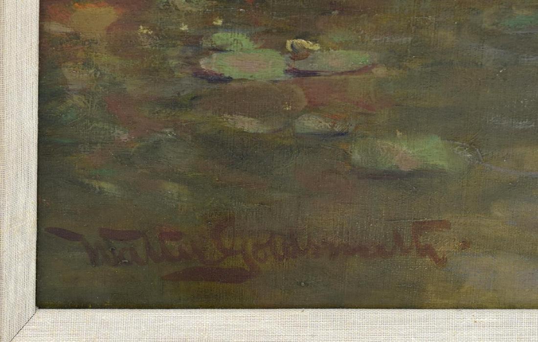 WALTER GOLDSMITH (ENGLISH 1860-1930) LANDSCAPE O/C - 5