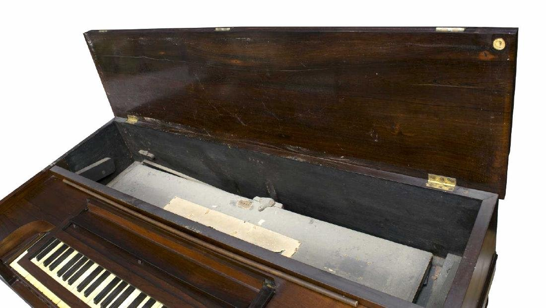 ROSEWOOD CASED SD & HW SMITH PUMP ORGAN, 1860'S - 6