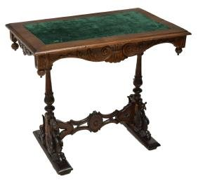 FRENCH WRITING TABLE, WINGED GRIFFINS