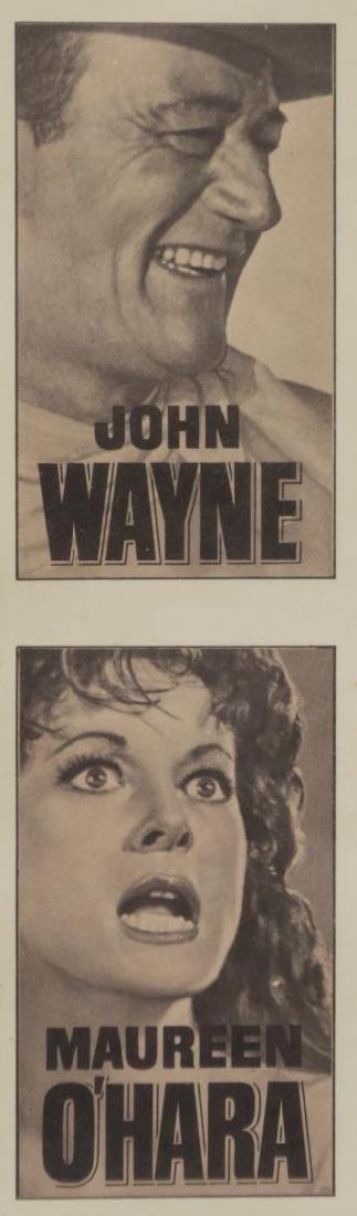 FRAMED MOVIE POSTER, McLINTOCK, JOHN WAYNE - 2