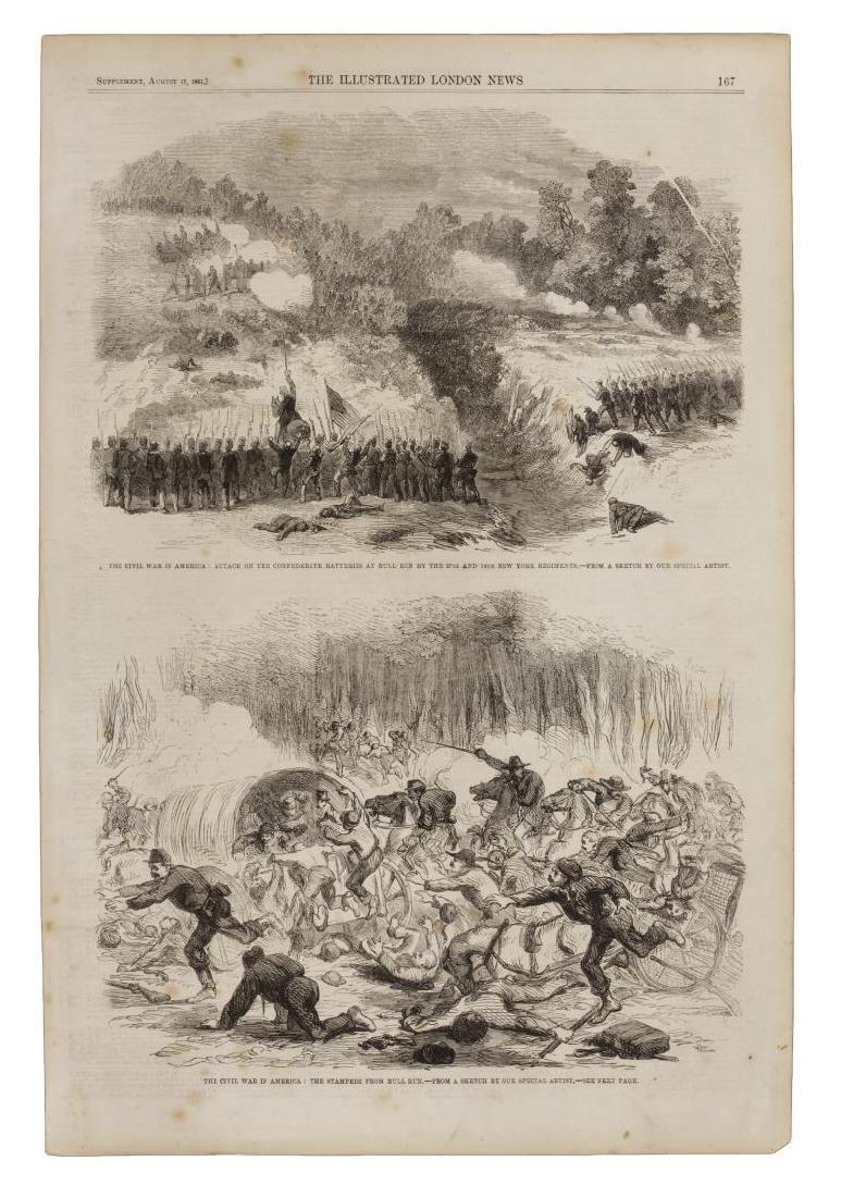 (4) U.S. CIVIL WAR ILLUSTRATIONS, JEFF DAVIS - 3