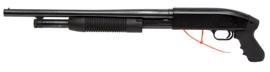 "MOSSBERG 88 SECURITY 12 GA. PUMP SHOTGUN, 18.5""BRL"