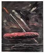 WALTER DAHN (B. 1954) 'PINK BALL & CANDLE',