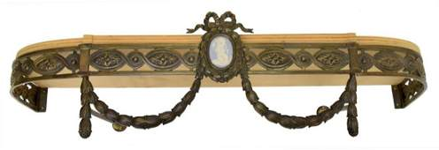 LOUIS XVI STYLE CANOPY BED CROWN