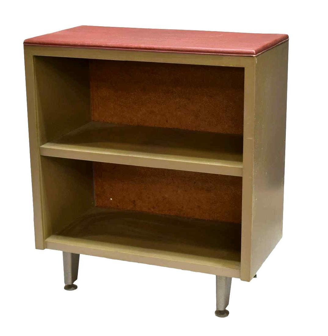 ITALIAN INDUSTRIAL STEEL BOOKCASE, 1950's