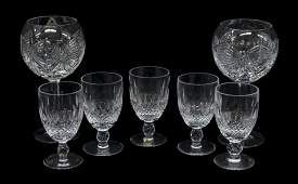 7 WATERFORD CUT CRYSYAL GLASSWARE COLLECTION