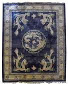 CHINESE RUG WITH DRAGONS 120 x 89