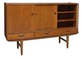 Danish Mid-century Modern Teakwood Sideboard