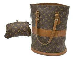 Vintage Louis Vuitton French Company Bucket Bag