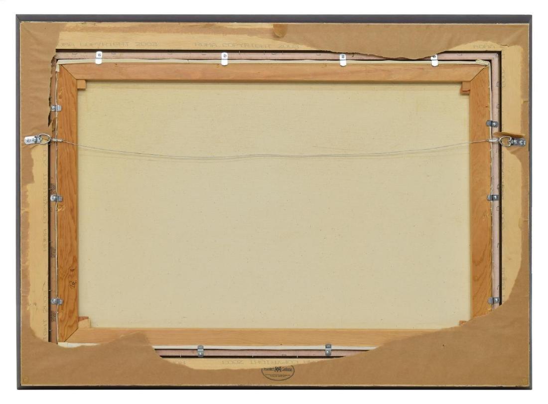 "PORFIRIO SALINAS (1910-1973) TEXAS FALL, 24"" x 36"" - 5"