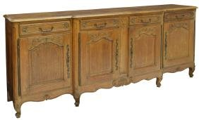 Country French Breakfront Sideboard