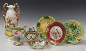 6 COLLECTION PORCELAIN CABINET ITEMS NIPPON