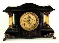 ANTIQUE SETH THOMAS MANTLE CLOCK RESTORED