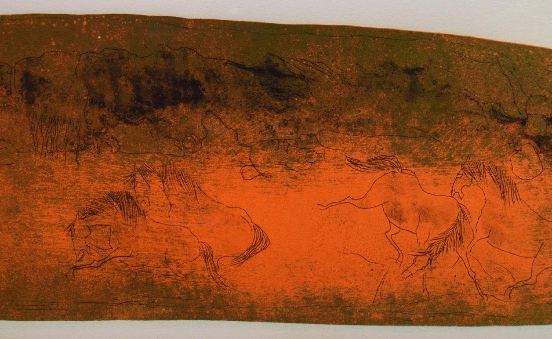 LEBADANG (1921-2015) COLOR EMBOSSED LITHOGRAPH - 3
