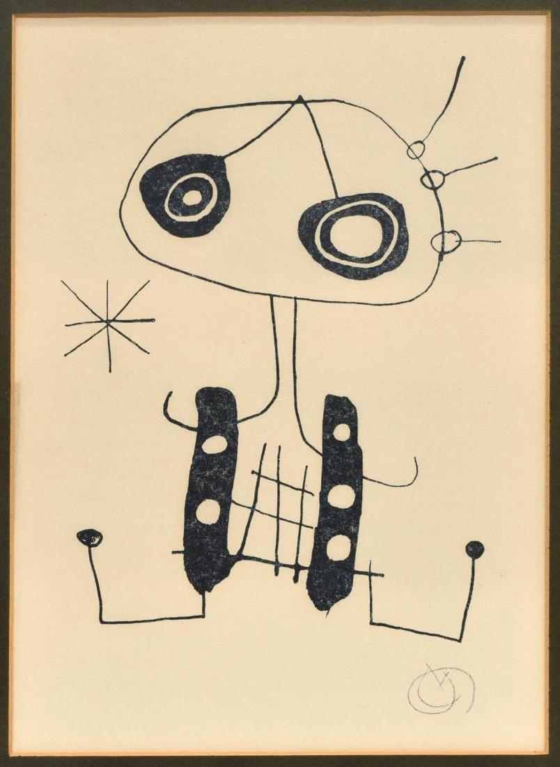 JOAN MIRO (1893-1983), LITHOGRAPH