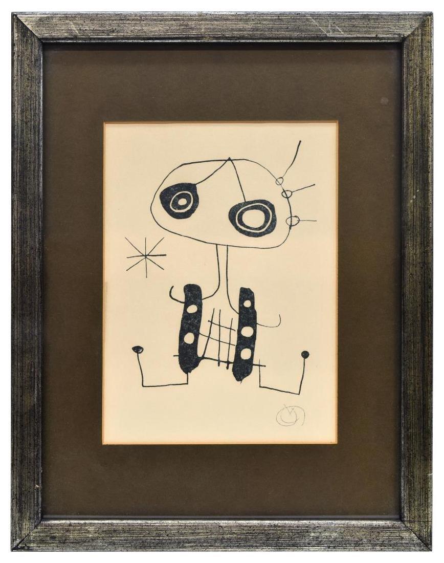 JOAN MIRO (1893-1983), LITHOGRAPH - 2