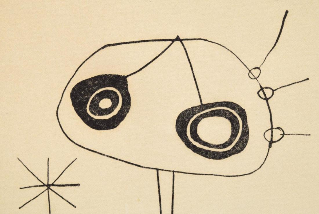 JOAN MIRO (1893-1983), LITHOGRAPH - 3