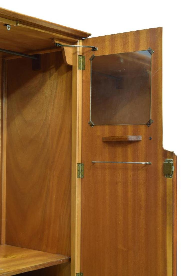 MID-CENTURY MODERN FITTED TEAKWOOD ARMOIRE - 3