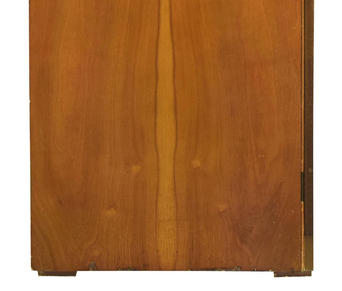 MID-CENTURY MODERN FITTED TEAKWOOD ARMOIRE - 5