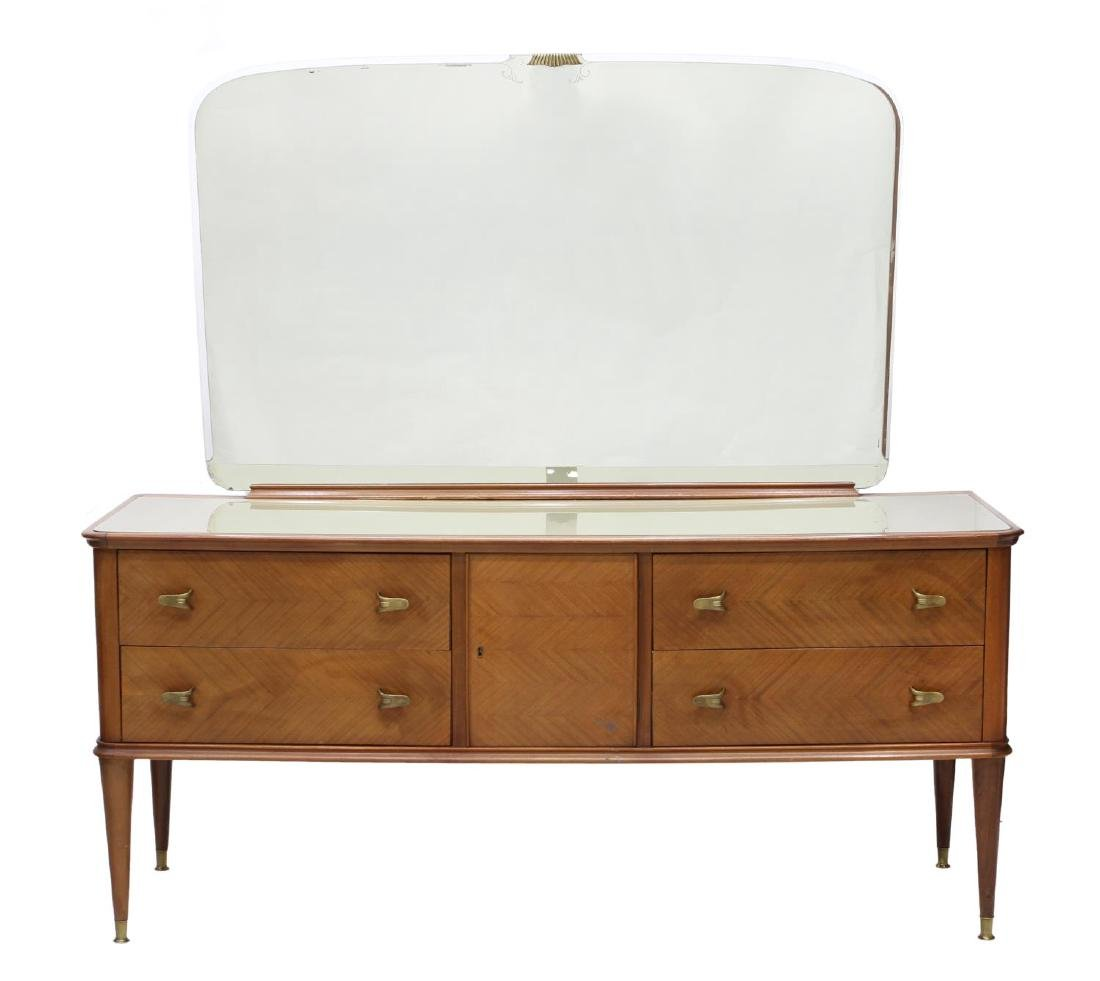 ITALIAN MID-CENTURY MODERN MIRRORED COMMODE - 3