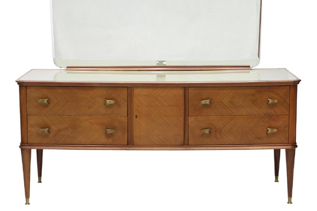 ITALIAN MID-CENTURY MODERN MIRRORED COMMODE - 4