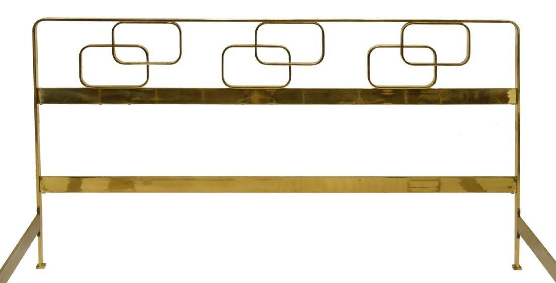ITALIAN MID-CENTURY MODERN BRASS BED - 2