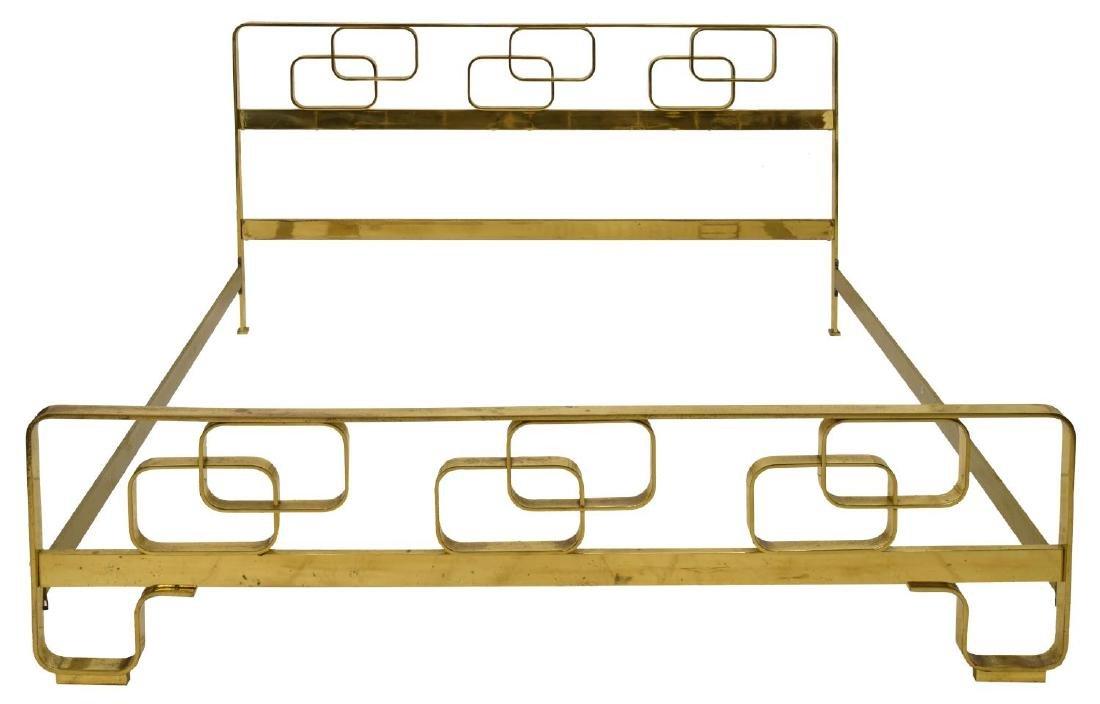 ITALIAN MID-CENTURY MODERN BRASS BED - 3