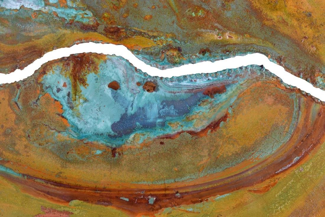 DARYL COLBURN (AUSTIN, 1954-2011) COPPER WALL ART - 2