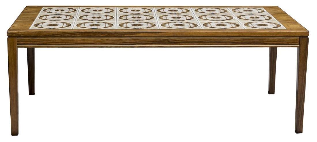 DANISH MODERN ROSEWOOD COFFEE TABLE - 2
