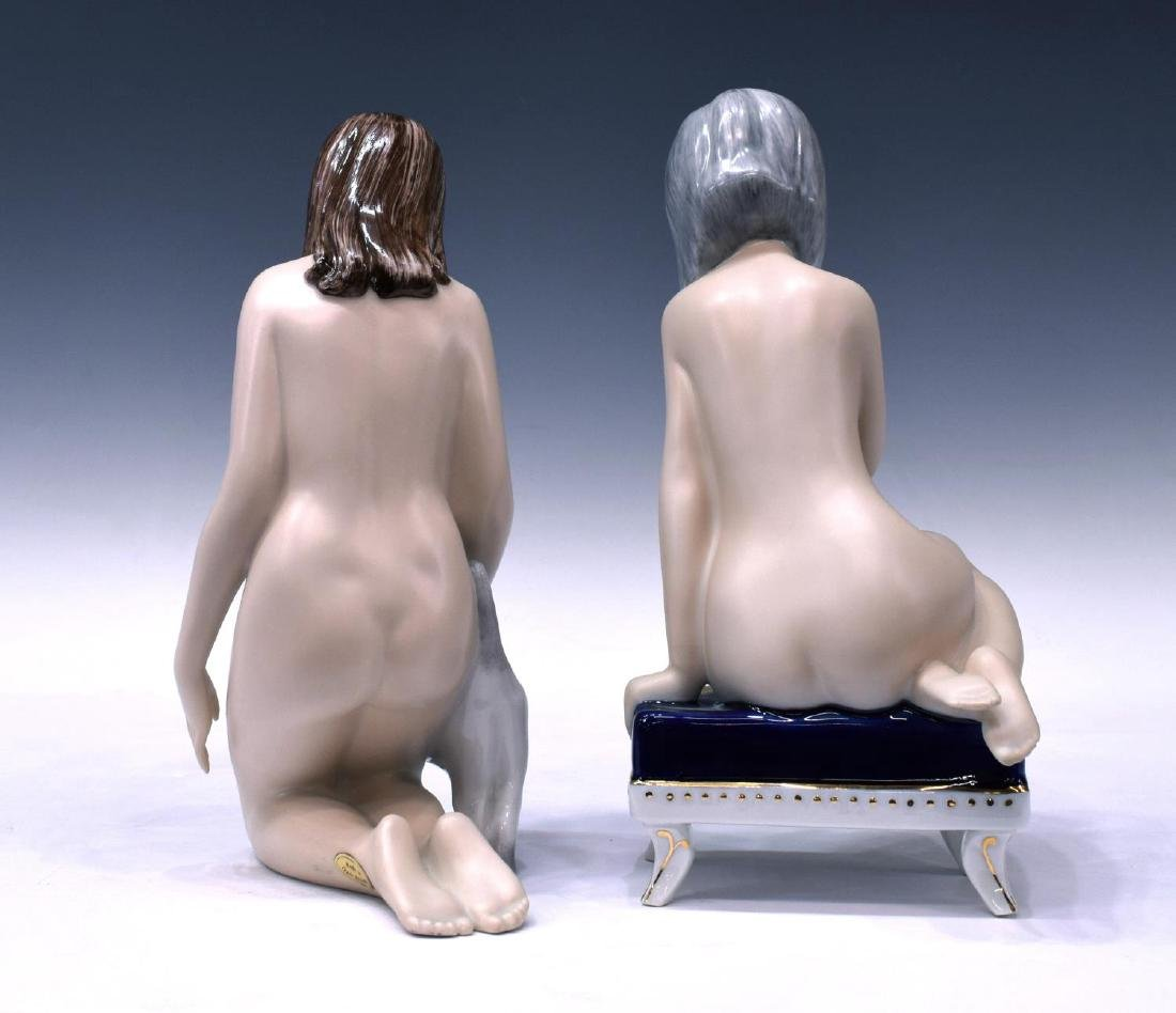 (3) ROYAL DUX PORCELAIN FIGURES, FEMALE NUDES - 6