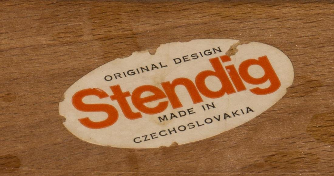 "(6) STENDIG ""PRAGUE"" BENTWOOD ARM CHAIRS - 4"