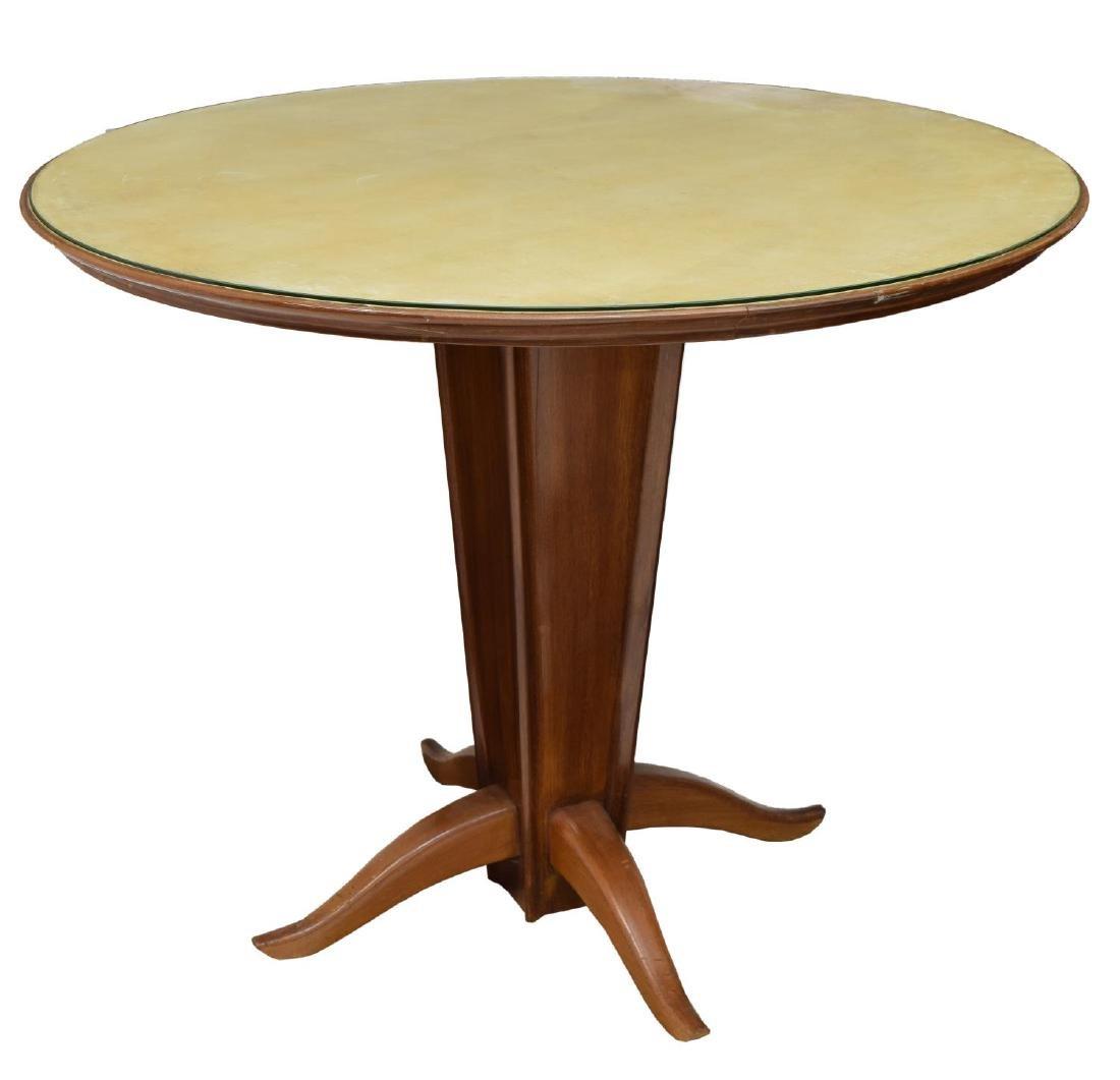 ITALIAN MID-CENTURY MODERN CIRCULAR DINING TABLE