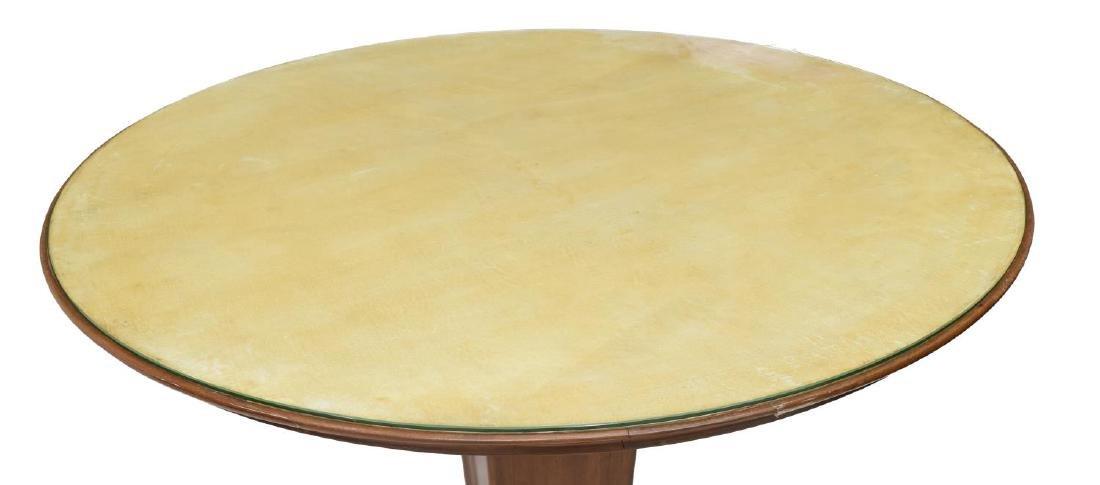 ITALIAN MID-CENTURY MODERN CIRCULAR DINING TABLE - 2