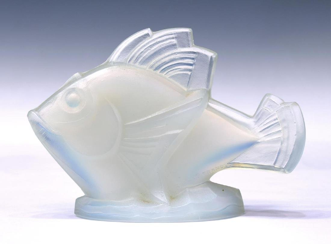 (2) ZANETTI MURANO ART GLASS BULL & SABINO FISH - 4