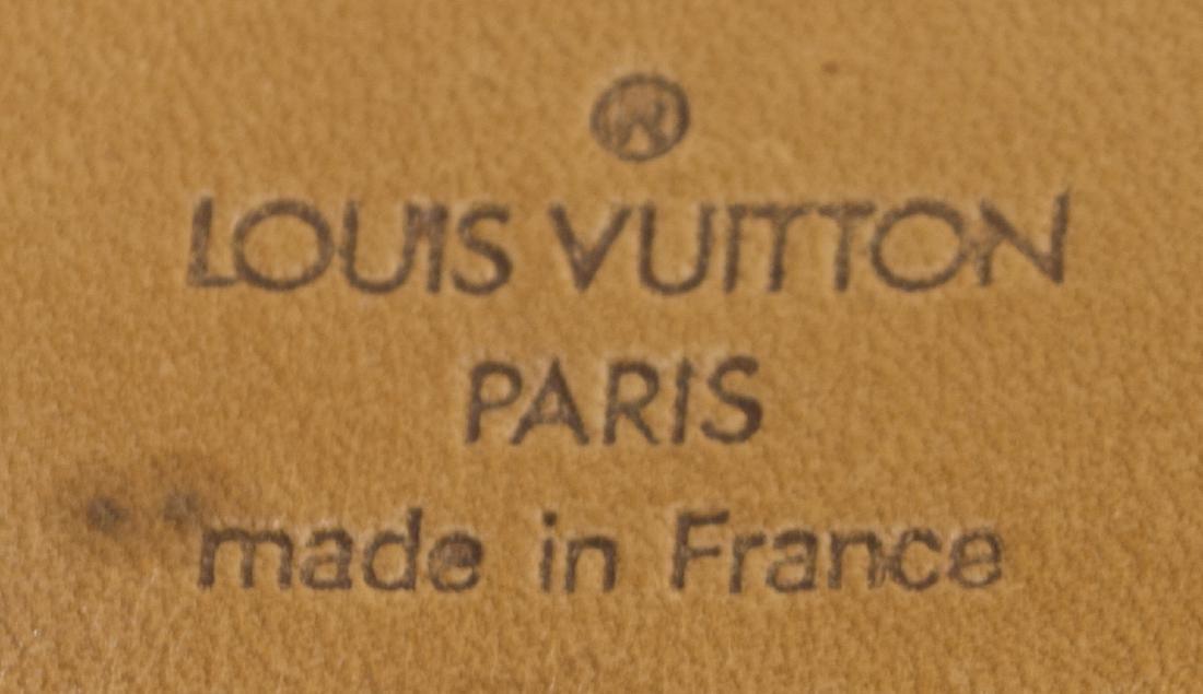 LOUIS VUITTON 'KEEPALL 55' MONOGRAM DUFFLE W/STRAP - 4