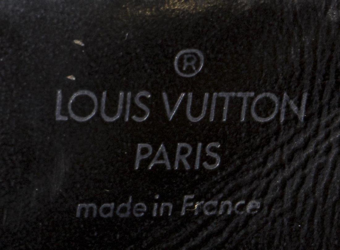 LOUIS VUITTON 'SAC D'EPAULE' BLACK EPI LEATHER BAG - 5