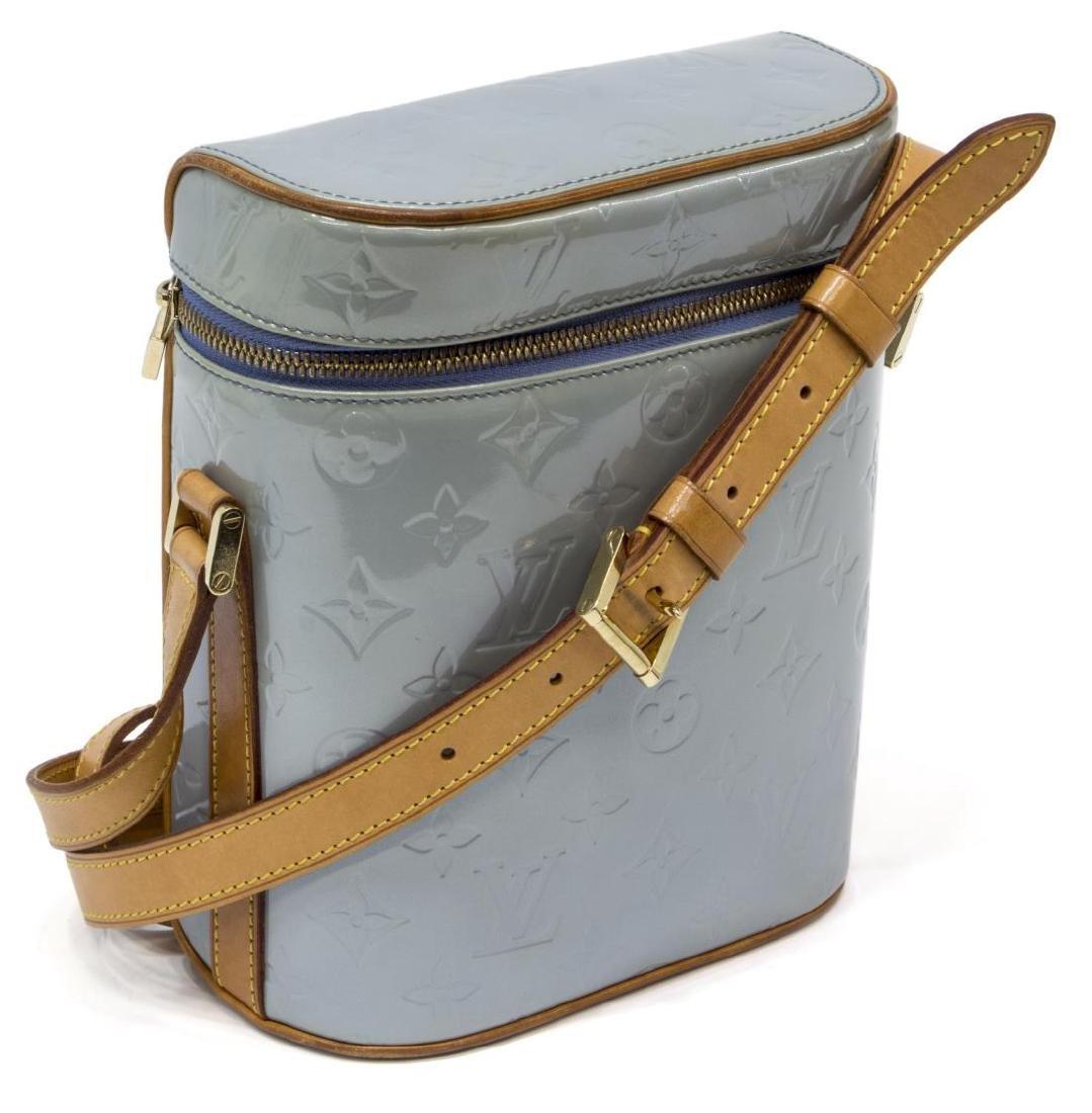 LOUIS VUITTON SULLIVAN BLUE VERTICAL SHOULDER BAG