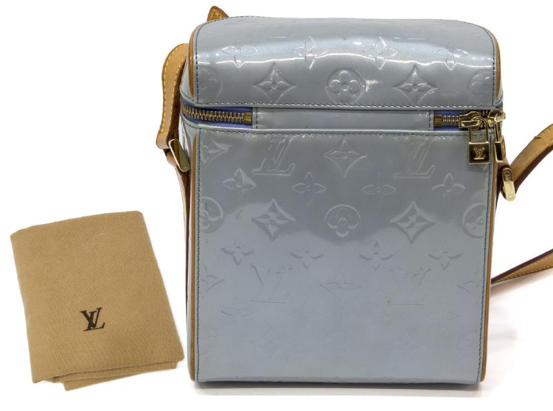 LOUIS VUITTON SULLIVAN BLUE VERTICAL SHOULDER BAG - 2