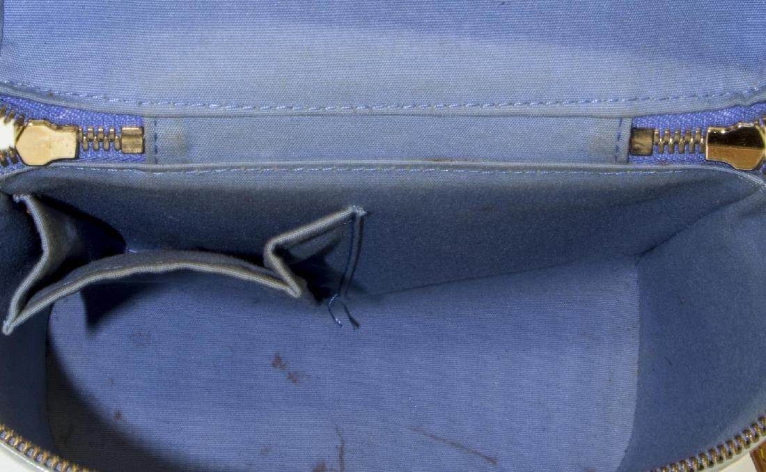 LOUIS VUITTON SULLIVAN BLUE VERTICAL SHOULDER BAG - 4