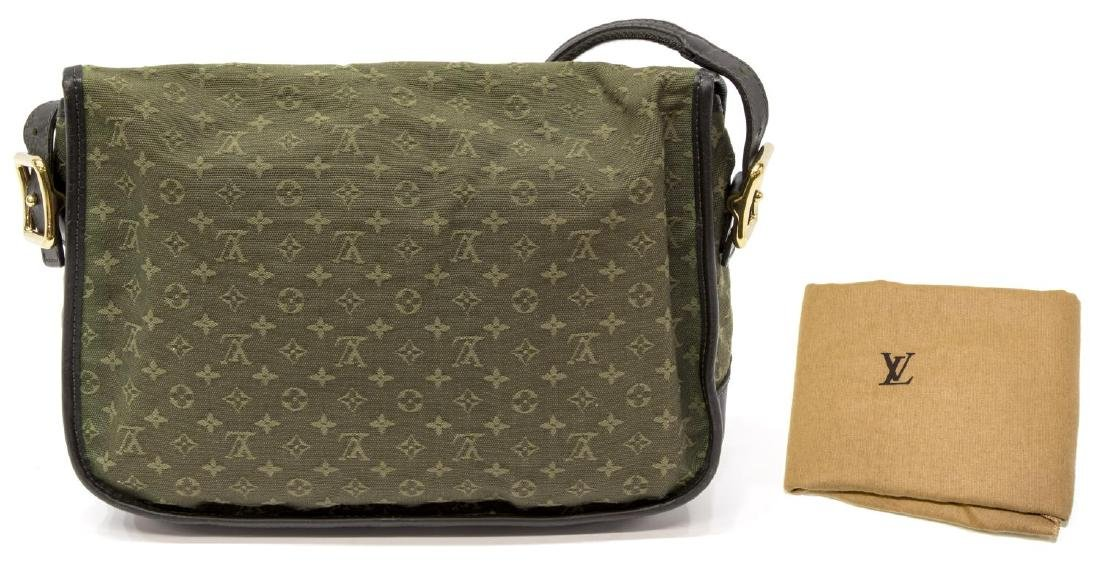 LOUIS VUITTON 'MARJORIE' GREEN MONOGRAM CANVAS BAG - 2