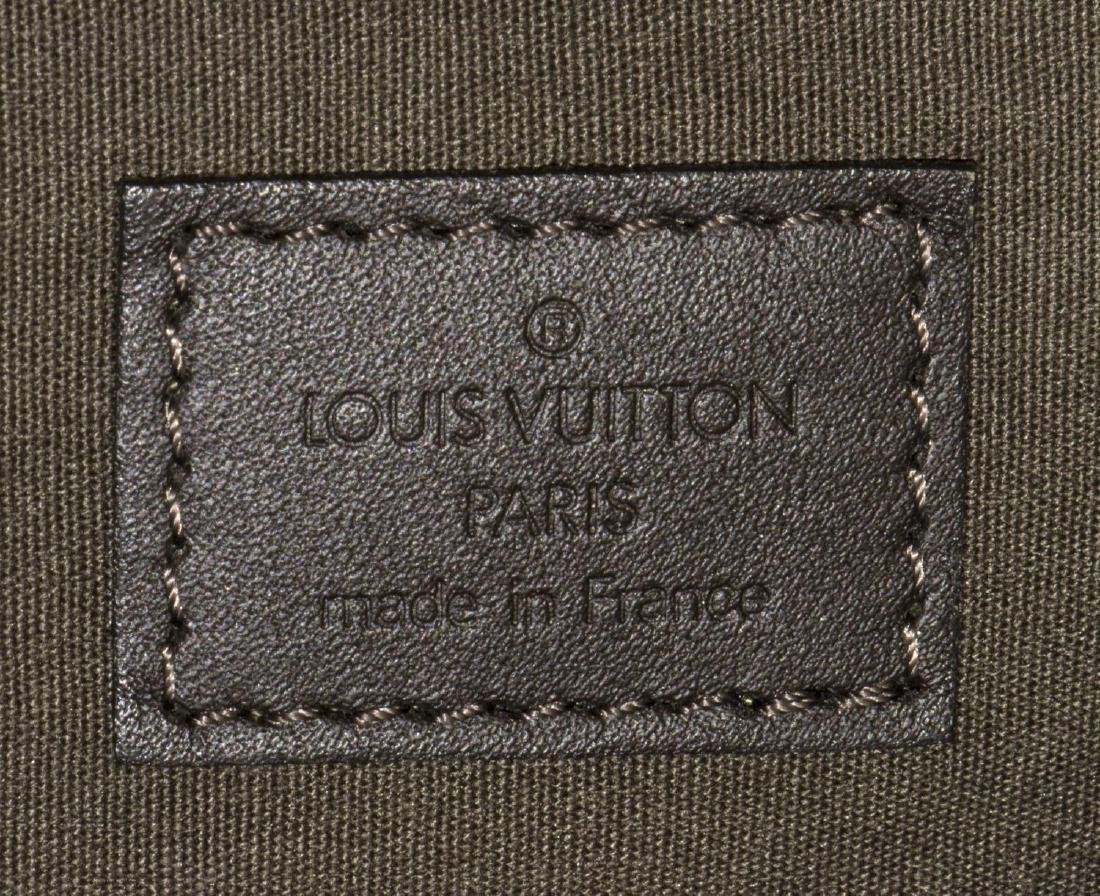 LOUIS VUITTON 'MARJORIE' GREEN MONOGRAM CANVAS BAG - 5
