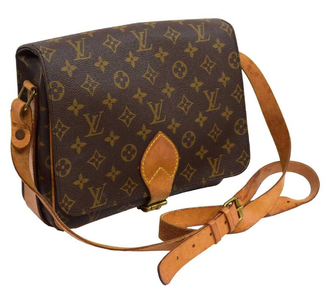 LOUIS VUITTON CARTOUCHIERE MONOGRAM CROSS BODY BAG cc76d2b99b434