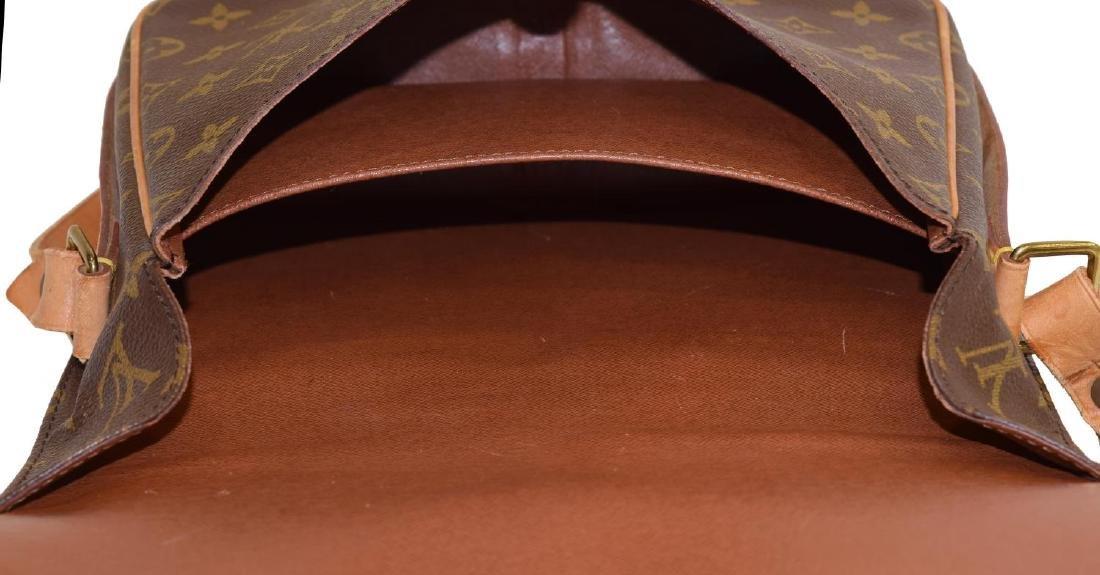 LOUIS VUITTON CARTOUCHIERE MONOGRAM CROSS BODY BAG - 4