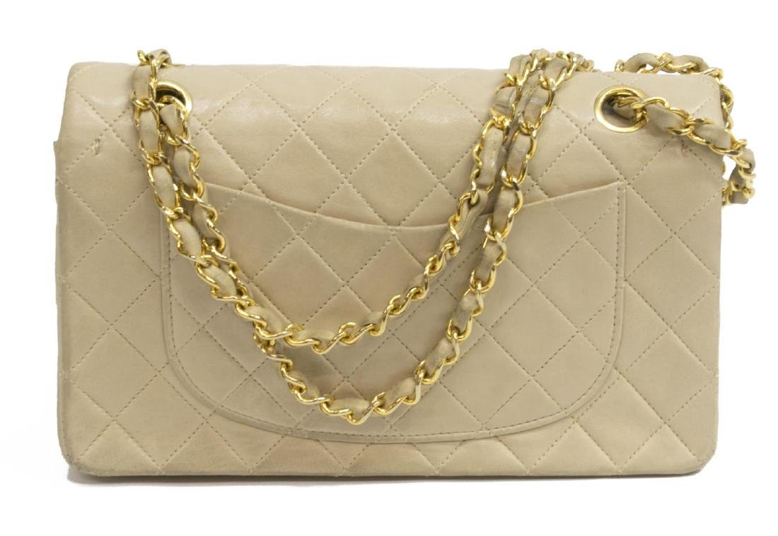 CHANEL QUILTED CLASSIC DOUBLE FLAP SHOULDER BAG - 2