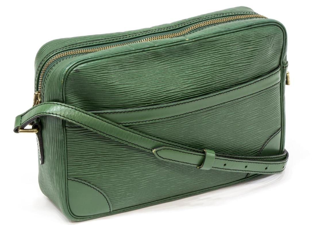 LOUIS VUITTON GREEN EPI TROCADERO SHOULDER BAG