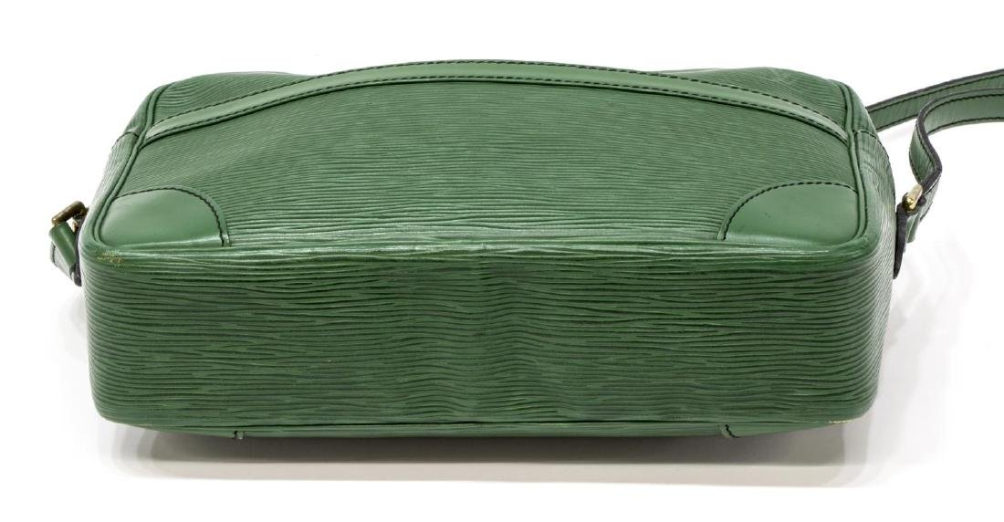 LOUIS VUITTON GREEN EPI TROCADERO SHOULDER BAG - 3