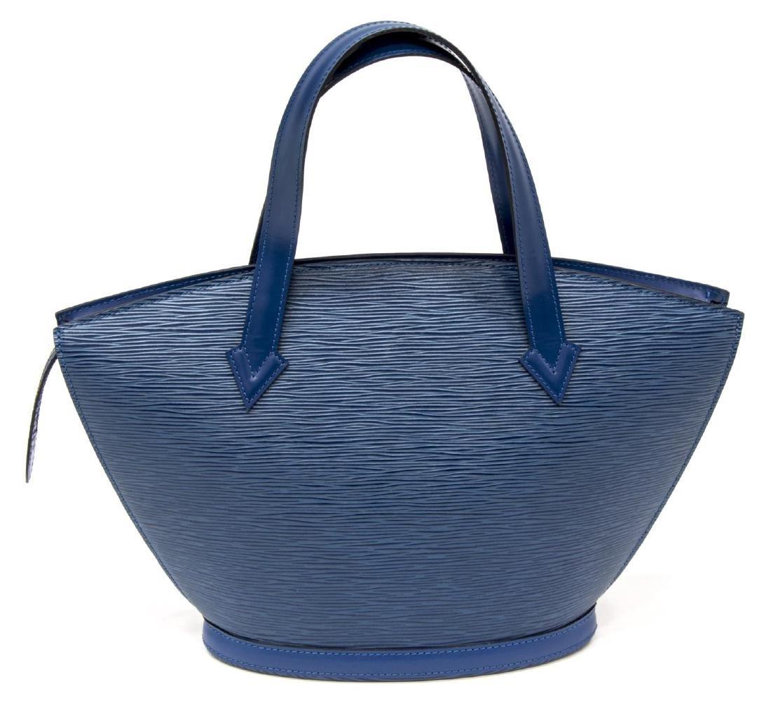 LOUIS VUITTON TOLEDO BLUE EPI ST JACQUES PM BAG - 2