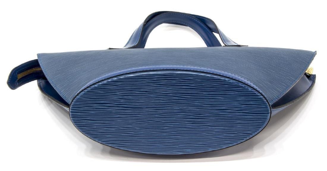 LOUIS VUITTON TOLEDO BLUE EPI ST JACQUES PM BAG - 3