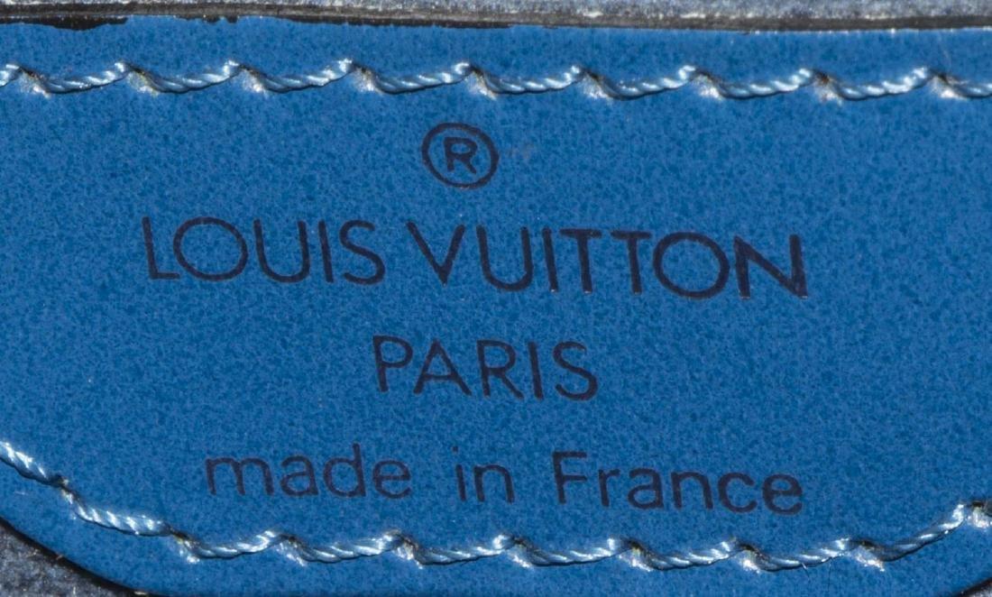 LOUIS VUITTON TOLEDO BLUE EPI ST JACQUES PM BAG - 5
