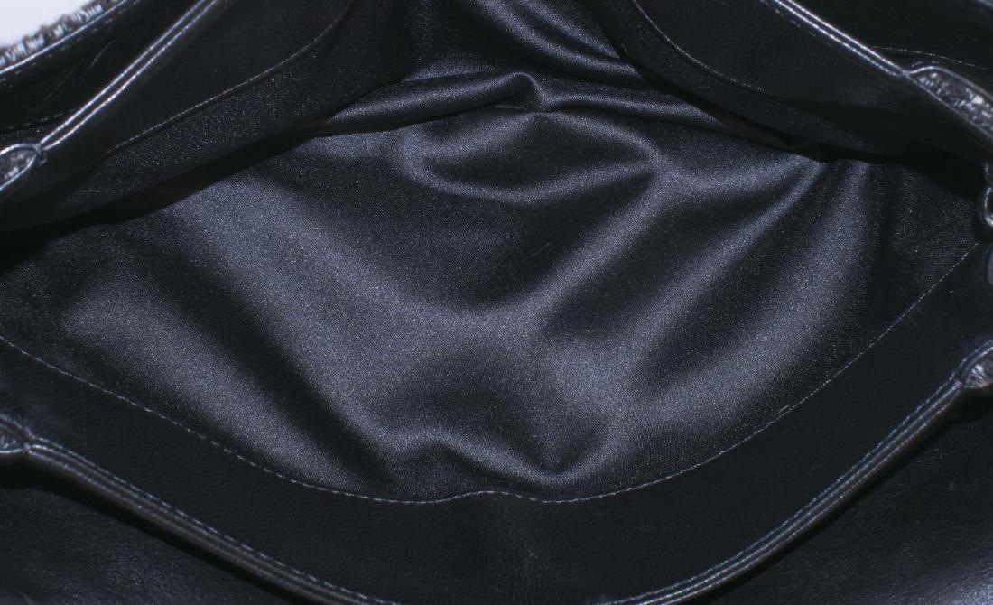 CHANEL TWEED, SEQUIN & LEATHER SHOULDER BAG - 5
